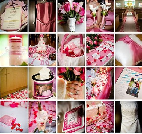 pink themed weddings thunder bay wedding thunder bay wedding planner