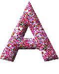 immagini di lettere dell alfabeto glitterate alfabeto glitter rosa le gif animate di mondo