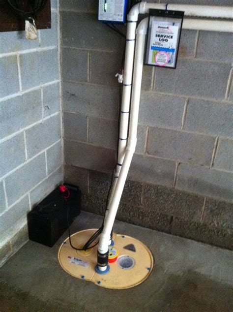 basement waterproofing basement water problem  bethany connecticut sump pump installation