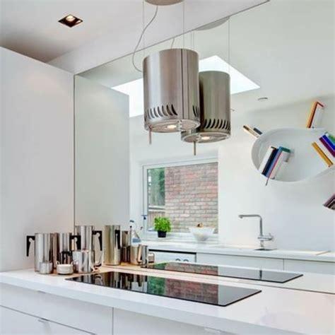 Grey Kitchen Ideas mirror splashback