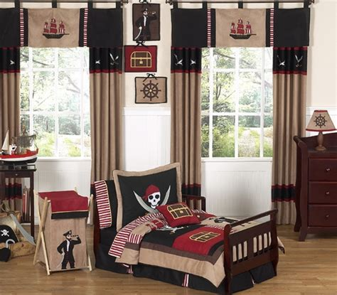 Pirate Toddler Bed Set Treasure Cove Pirate Toddler Bedding 5 Pc Set Only 99 99