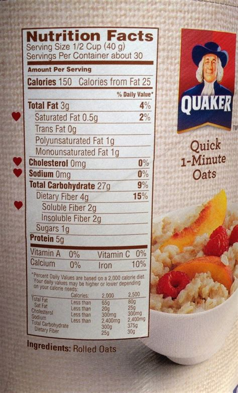 protinex nutrition facts review on quaker oats brekfast for health
