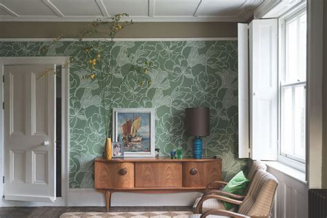 farrow ball launches whimsical wallpaper