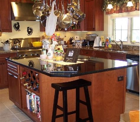 Kitchen Island Decorative Accessories decorative pot racks with hanging pot and pan rack