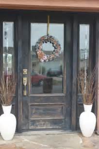 Rustic Wood Front Doors Best 25 Distressed Doors Ideas On Sliding Barn Doors Barn Doors For Homes And