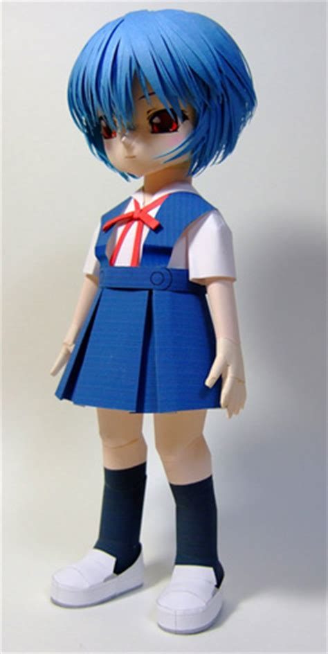 Papercraft Figure - anime papercraft figures