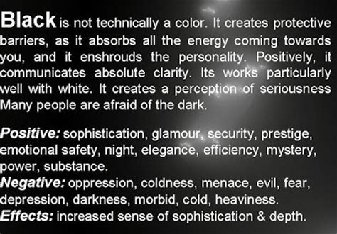 black color meaning meaning of colors psychology of color personality