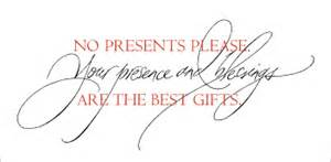 wedding invitation no gifts wedding invitations calligraphy custom invitations
