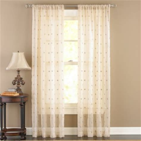 sheer curtains bed bath and beyond buy sheer curtains 50 x 108 from bed bath beyond
