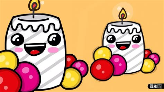 imágenes de navidad kawaii c 243 mo dibujar una vela de navidad dibujos navide 241 os