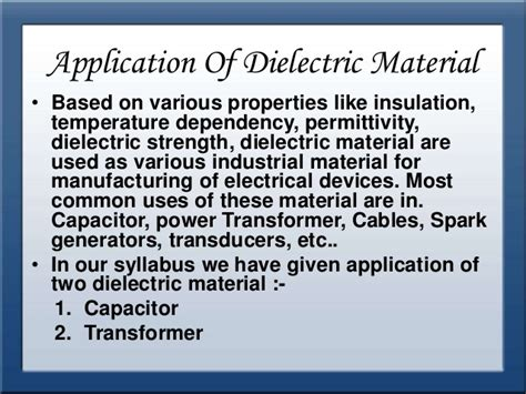 capacitor with solid dielectric materials are used because applications of dielectric material