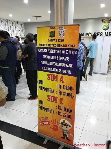 biaya membuat imb bekasi biaya bikin sim 2018 untuk sim a dan sim c jilaxzone