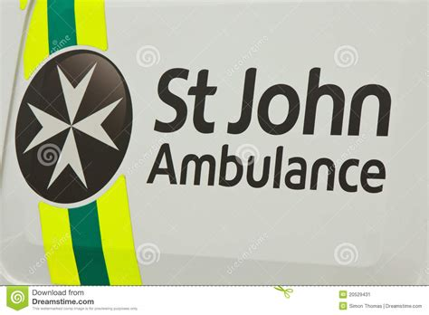 design art signs saint john st john ambulance editorial photo image 20529431