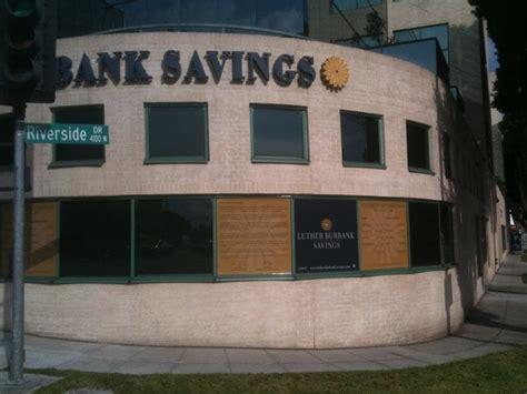 burbank bank luther burbank savings bank building societies