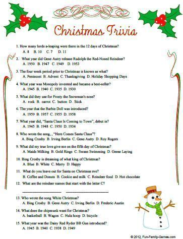 free printable christmas quizzes uk christmas trivia questions and answers christmas quiz