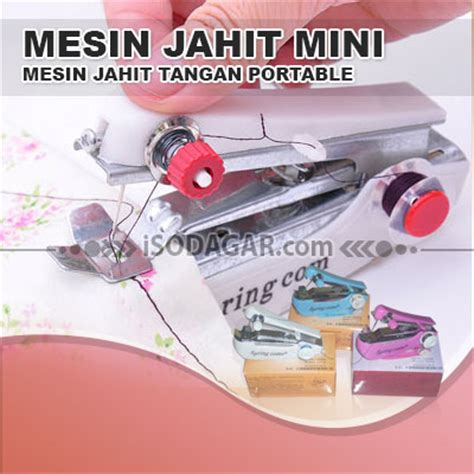Alat Untuk Menjahit Mini Portable mesin jahit mini mesin jahit tangan portable isodagar