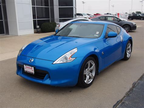 2012 nissan 370z blue 200 interior and exterior images