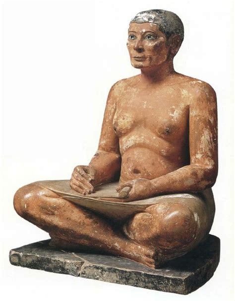 seated scribe louvre the seated scribe c 2 600 2 350 bc mus 233 e du louvre