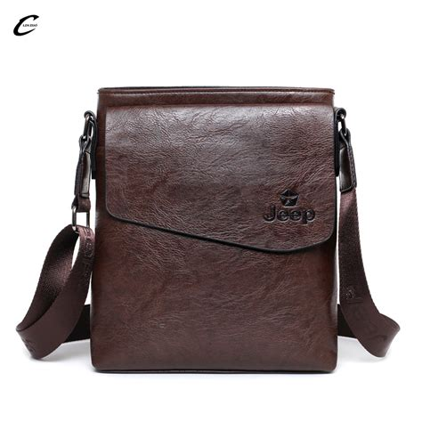 Buluo Jeep Original Brand Messenger Bags High Quality Casual Tas compare prices on jeep leather bags shopping buy low price jeep leather bags at factory