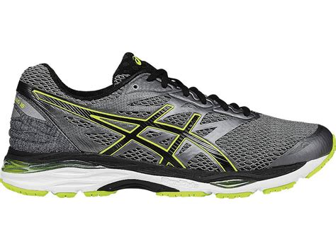 Asics Gel Cumulus 19 Grey Black Silver running shoes at the runners shop toronto and