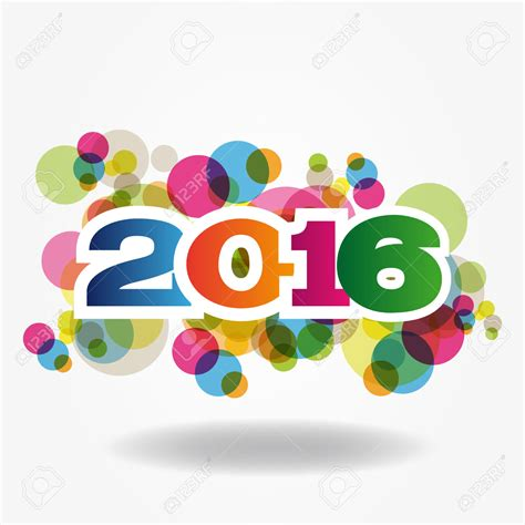 new year 2016 happy new year in abstract happy new year 2016 stock vector hd w 17777