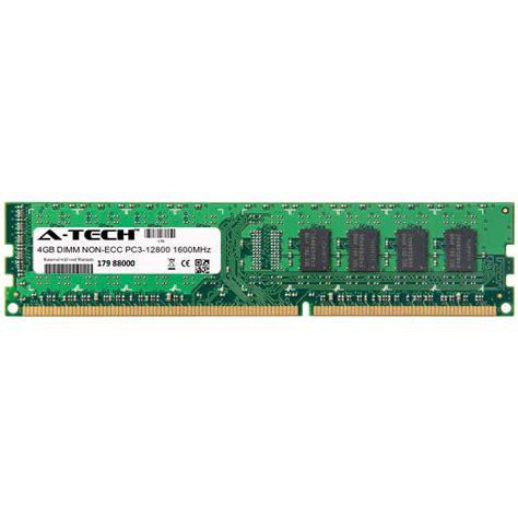 Ram 4gb Ddr3 Untuk Laptop Lenovo atech 4gb dimm ddr3 desktop pc3 12800 12800 1600mhz 1600 240 pin ram memory 843591005975 ebay