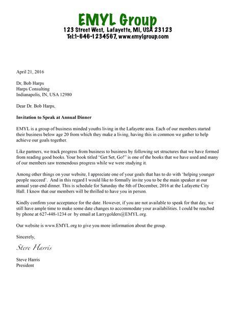 Invitation Letter Design Template formal invitation letter template free design templates