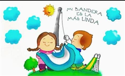 imagenes infantiles banderas argentinas dia de la bandera argentina para colorear 2017