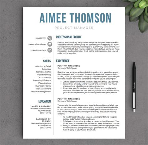 Contemporary Resume Template by Modern Resume 9 Sles Exles Format