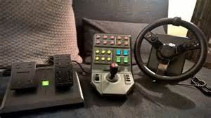 Steering Wheel For Farming Simulator Heavy Equipment Precision System Review Gaming Nexus