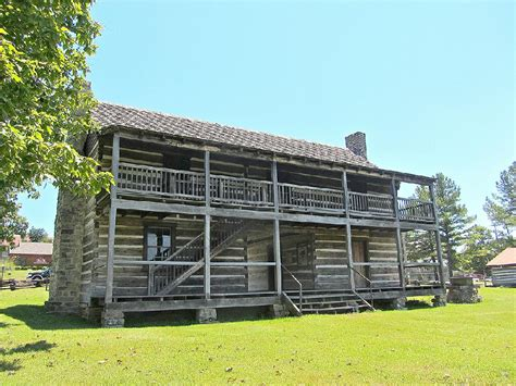 Building A House Online The Wolf House In Norfork Probably Built In 1829 Is