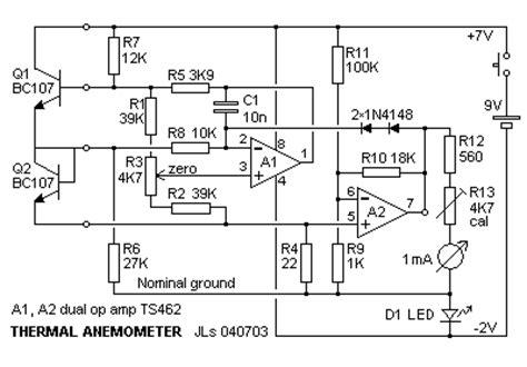 transistor anemometer transistor wire diagram transistor free engine image for user manual