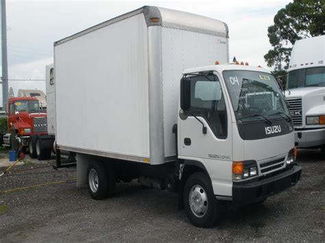 used 2004 isuzu npr box truck for sale isuzu box