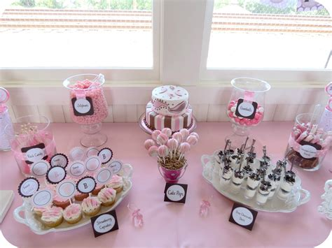 sweet beginnings baby shower - Baby Shower Sweet Table