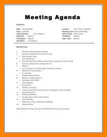 11 how to write a meeting agenda emt resume