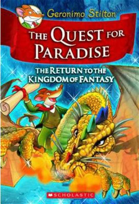 in paradise books the quest for paradise geronimo stilton 9780545253079