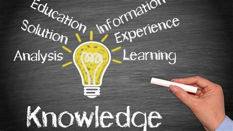 And Knowledge difference between education and knowledge