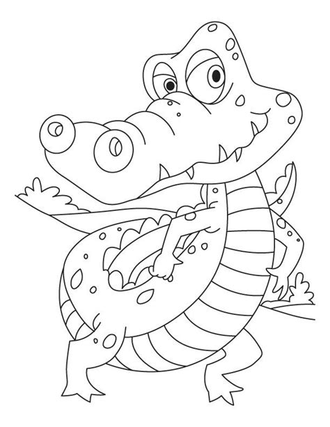 11 best crocodilos images on pinterest coloring pages