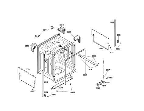 bosch dishwasher parts diagram bosch dishwasher tub parts model she44c02uc 22