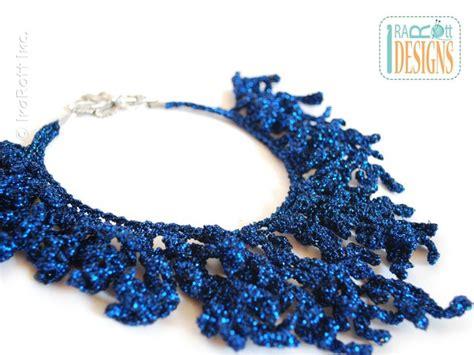 free pattern necklace crochet crochet necklaces crochet kingdom 10 free crochet patterns