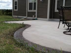 Cement Patio Concrete Contractor In Pewaukee Wi Patios Sidewalks