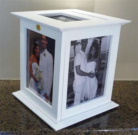Wedding Envelope Box With Lock by White Wedding Card Box 8x10 Photo Lock Envelope