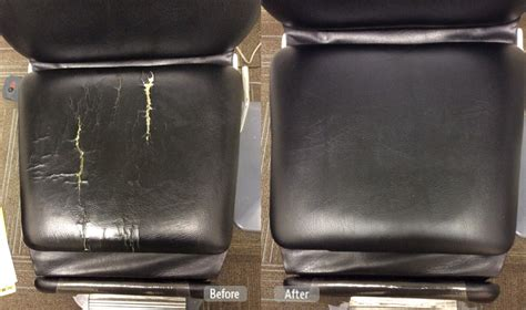 How To Repair Vinyl Upholstery by Photo Chair Restoration Fibrenew Of Sarasota