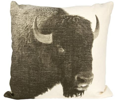 Buffalo Home Decor by Bison Pillow By Jayson Home Trend We Buffalo Decor Lonny