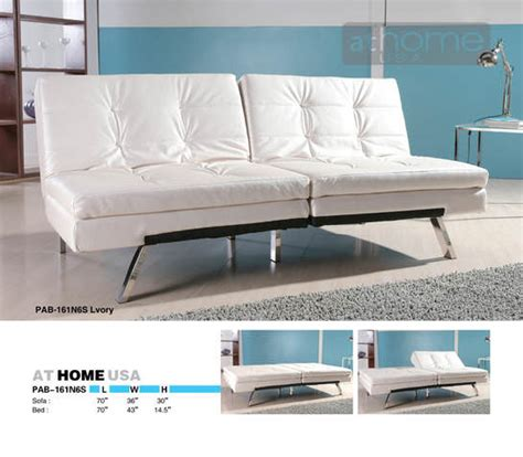 Ivory Sofa Bed by Aspen Ivory Sofa Bed By At Home Usa