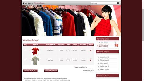 tutorial e commerce aplikasi toko online penjualan spare pondoksoft download web ecommerce toko pakaian gratis