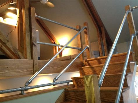 manhattan barn industrial staircase other metro by