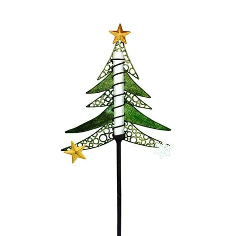 ezsolar solar powered led tree christmas stake mpp901 aa 1