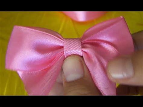 cara bikin pita untuk mos diy kreasi dari pita satin creations of satin ribbon youtube