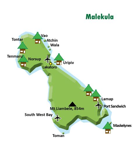 Interior Plains Agriculture About Malekula Island Travel Guide